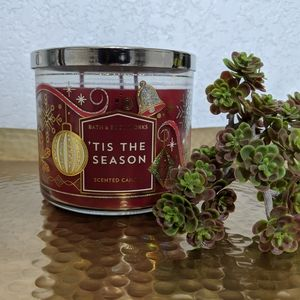 Tis The Season Bath and Body Works Candle